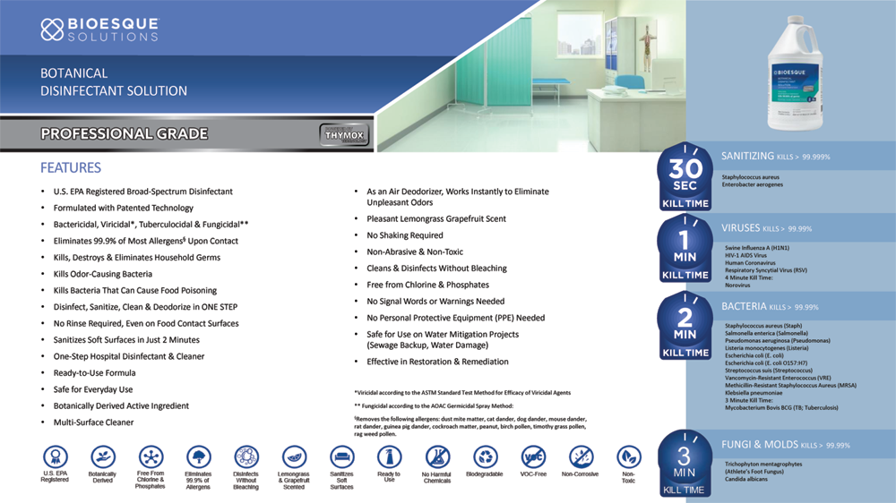 Vinnies House Cleaning Services - Disinfection Services - 03